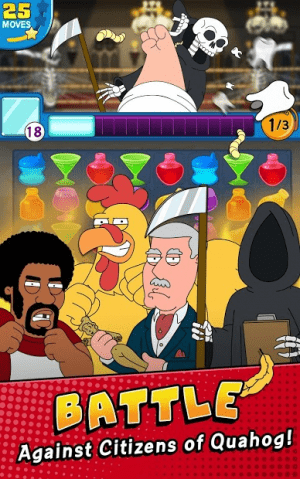 Family Guy- Another Freakin' Mobile Game 2
